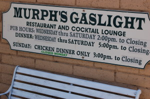 Murph's Gaslight Hours